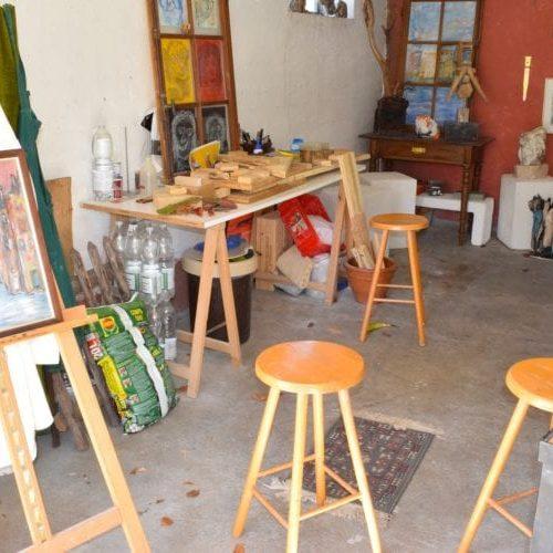 Het kunstattelier